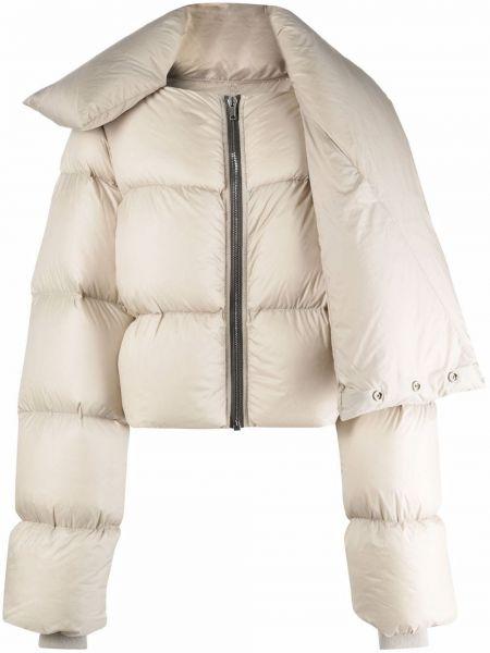 Пуховая куртка - белая Rick Owens