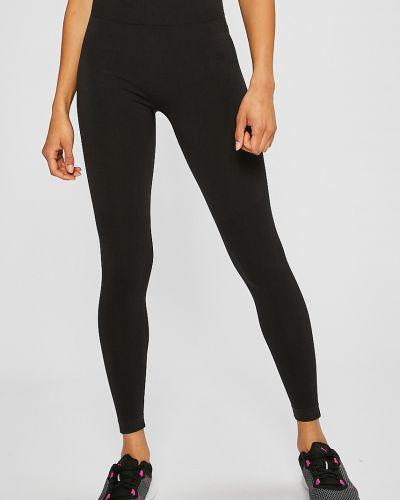Черные брюки на резинке Puma