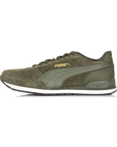 Кроссовки беговые на шнуровке винтажные Puma