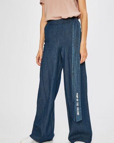 Свободные брюки с карманами с завышенной талией Sh