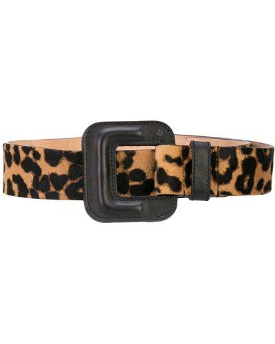 Ремень леопардовый черный Veronica Beard