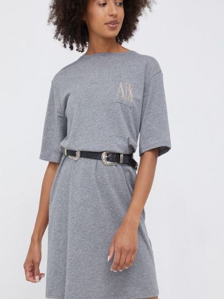 Хлопковое платье Armani Exchange