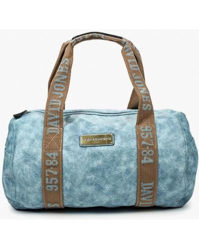Голубая дорожная сумка David Jones