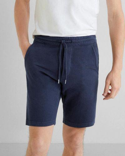 Спортивные шорты синий Mango Man