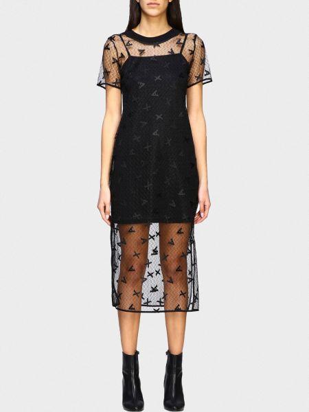 Повседневное платье для офиса Armani Exchange