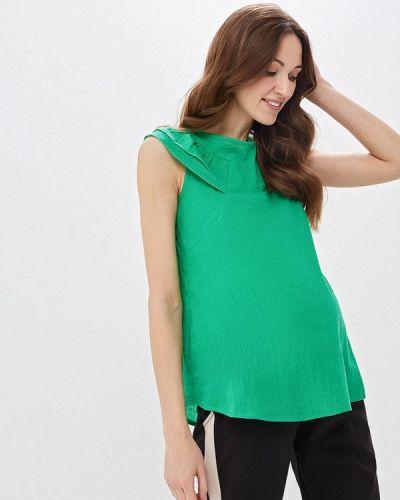 Блузка - зеленая очаровательная адель