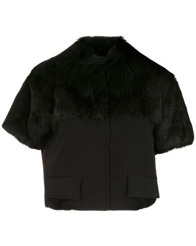 Блузка с воротником-стойкой прямая Andrea Bogosian