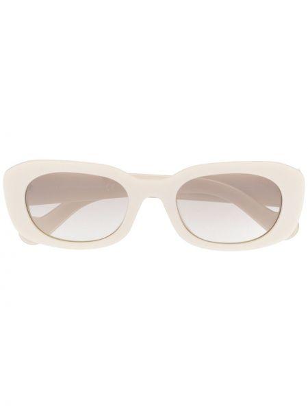 Прямые муслиновые солнцезащитные очки круглые Moncler Eyewear