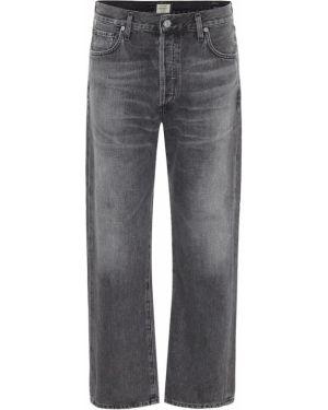 Прямые джинсы укороченные mom Citizens Of Humanity