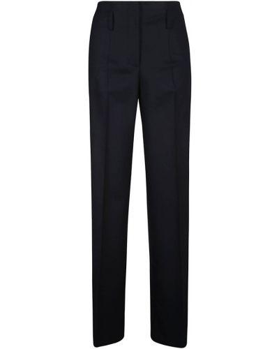 Czarne spodnie Alberta Ferretti