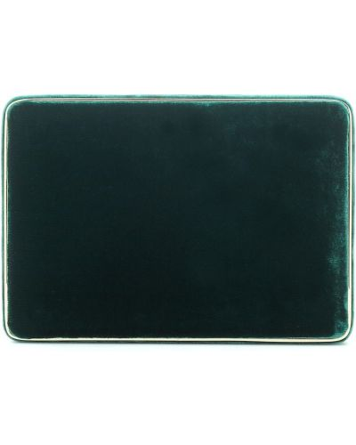 Zielona kopertówka z jedwabiu Hunting Season