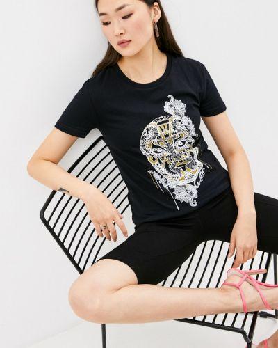 Черная футболка с короткими рукавами Custo Barcelona