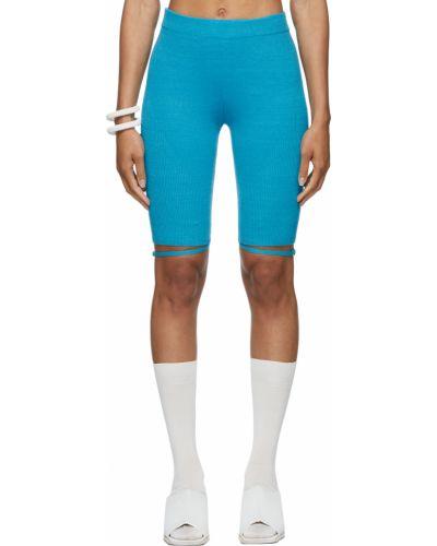 Синие шорты короткие Jacquemus