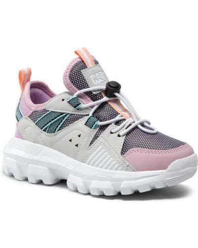 Różowe sneakersy Caterpillar