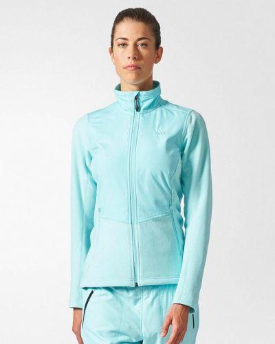 Толстовка 2019 бирюзовый Adidas