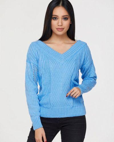 Пуловер - голубой Brunello De Neri