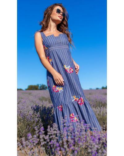 Платье на бретелях Helena