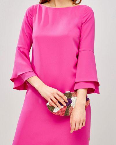 Коктейльное платье розовое Pedro Del Hierro