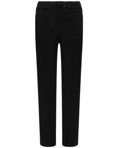 Повседневные трикотажные черные брюки Palm Angels