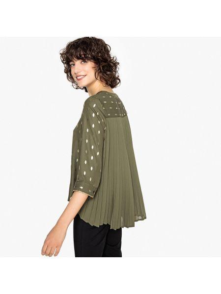 Блузка с V-образным вырезом с цветочным принтом Vero Moda