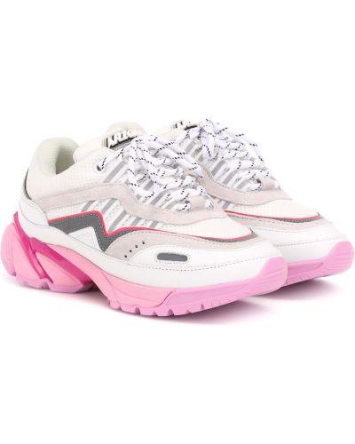 Кожаные кроссовки сетчатые розовый Axel Arigato