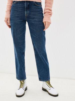 Прямые джинсы синие Selected Femme
