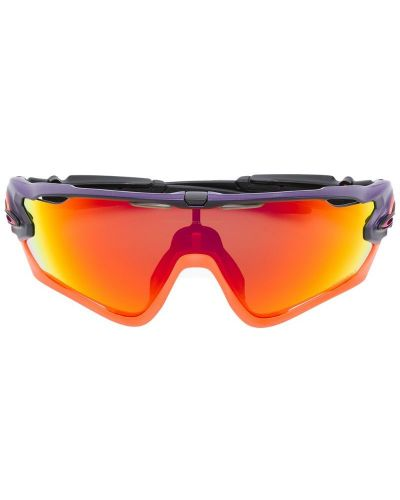Оранжевые солнцезащитные очки Oakley