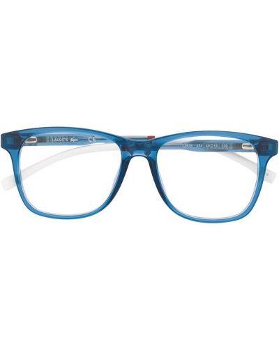 Niebieski prosto oprawka do okularów plac Lacoste Kids
