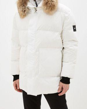 Зимняя куртка осенняя белая Odri