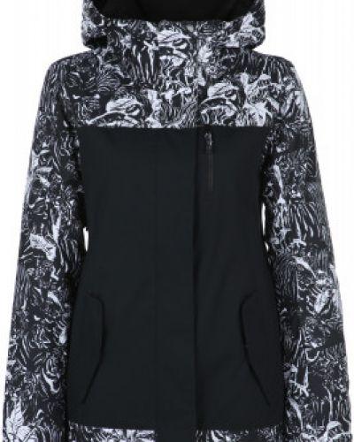 Черная утепленная куртка горнолыжная Jetty сноубордическая Roxy