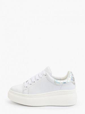 Белые резиновые кроссовки Roobins