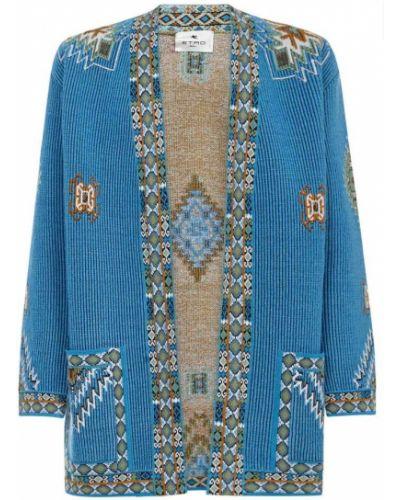 Niebieski kimono Etro
