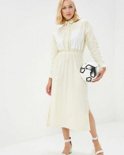 Платье желтый Pepen