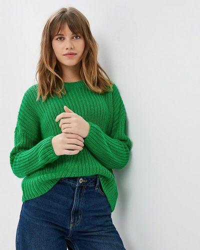 Зеленый джемпер Only
