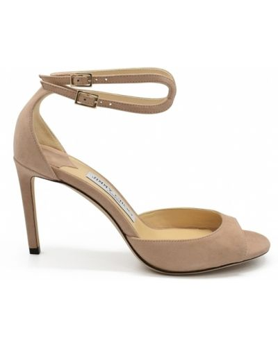 Sandały skorzane Jimmy Choo