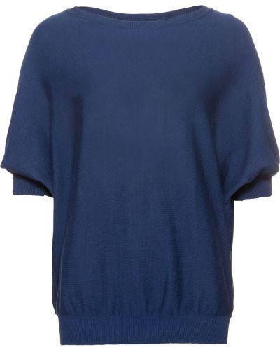 Темно-синий свитер летучая мышь Bonprix