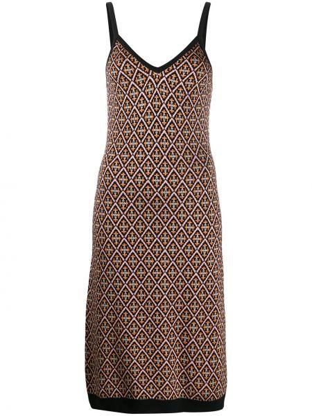 Платье миди с завышенной талией на бретелях Temperley London