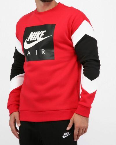 Красная толстовка Nike