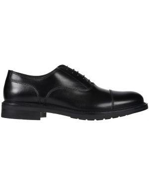 Кожаные туфли - черные Franceschetti