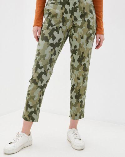 Повседневные зеленые брюки Gap