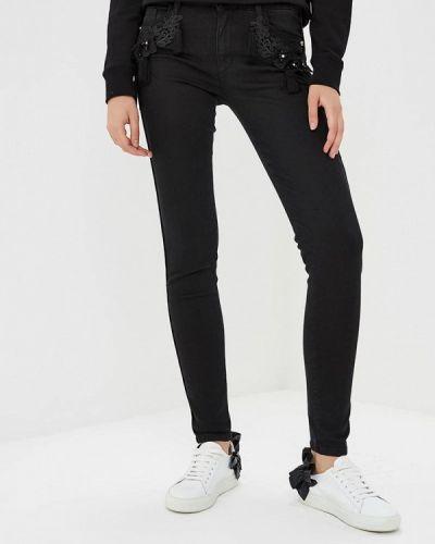 Черные джинсы-скинни Blugirl Folies