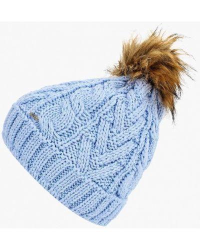 Голубая шапка осенняя Luhta