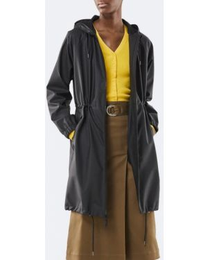 Длинная куртка черная куртка-жакет Rains