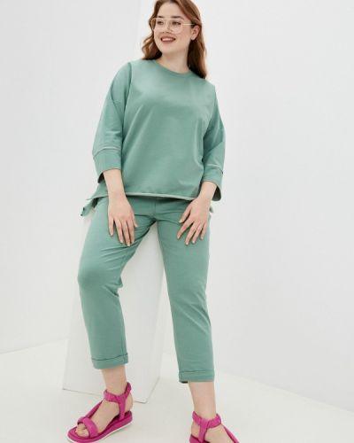 Спортивный зеленый спортивный костюм Chic De Femme