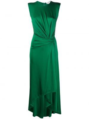 Платье мини с запахом с вырезом с короткими рукавами из вискозы Monse