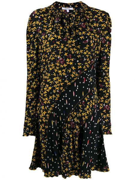 Платье с цветочным принтом с V-образным вырезом Derek Lam 10 Crosby