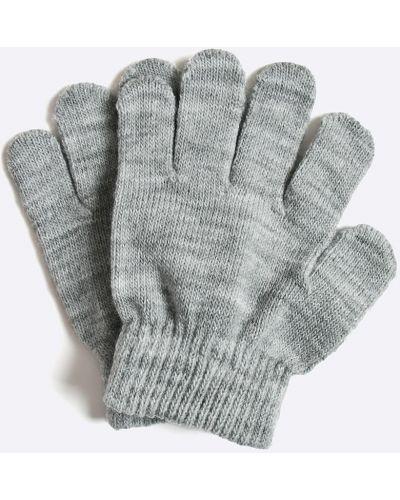 Серые перчатки акриловые Name It