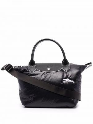 Сумка на плечо - черная Longchamp