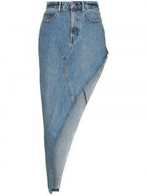 Джинсовая юбка - синяя Alexander Wang