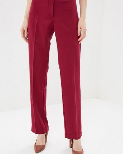 Классические брюки бордовый красный Elena Kulikova